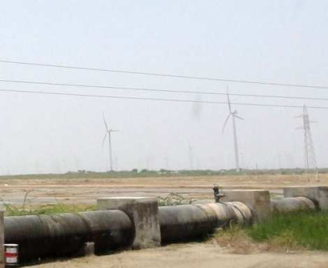 0 Bhuj pipe lines and windmills rs