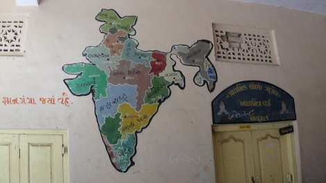 Map of India rs
